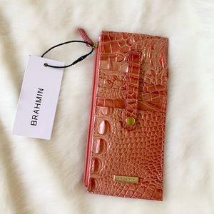 Brahmin NWT Bellini Melbourne Leather Wallet